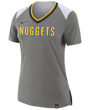 Nike Women S Denver Nuggets Nba Basketball Fan Top 6680e130e4