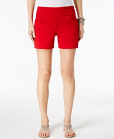I.N.C. Petite Pull-On Shorts, Created for Macy's