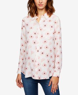 Rails Maternity Button-Front Shirt thumbnail