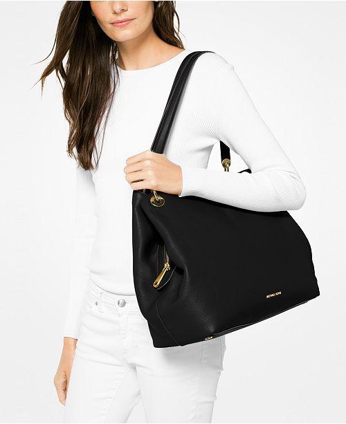 Michael Kors Raven Extra-Large Shoulder Tote   Reviews - Handbags ... 21a5bdd2d17f6