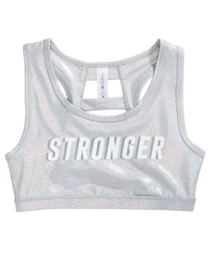 Ideology Stronger Sports Bra, Big Girls, Created for Macy's thumbnail