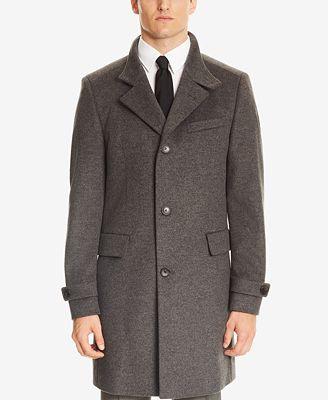 Boss by Hugo Boss Virgin Wool Long Coat
