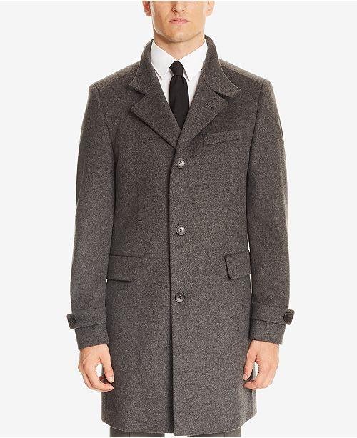 Boss by Hugo Boss Virgin Wool Long Coat Wide Range Of Cheap Price ApLYww