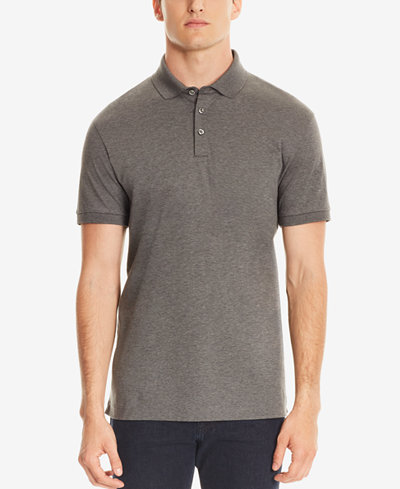 BOSS Men's Regular/Classic-Fit Mercerized Cotton Polo