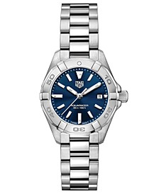 Women's Swiss Aquaracer Stainless Steel Bracelet Watch 27mm