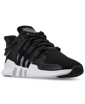 low priced 849ec 697b1 Adidas Men'S Eqt Support Adv Sneakers From Finish Line, Core Black/Core  Black/Ftw
