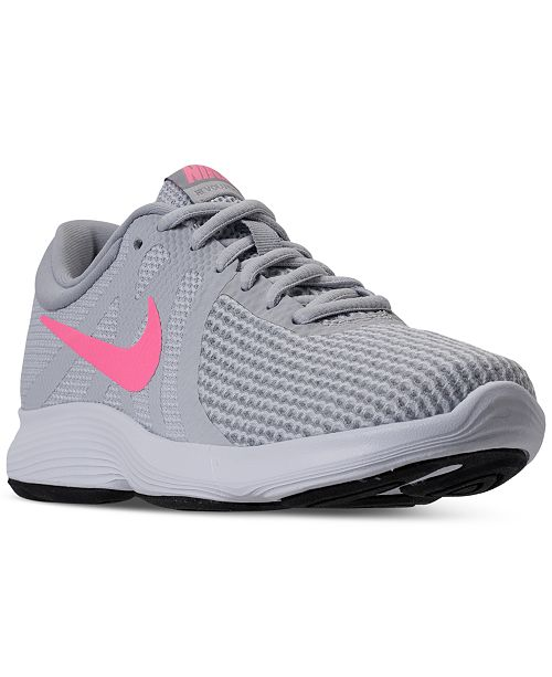 pretty nice 5e599 a0d17 Nike Women s Revolution 4 Running Sneakers from Finish ...