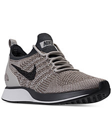 Nike Women's Air Zoom Mariah Flyknit Racer Casual Sneakers from Finish Line