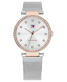 Tommy Hilfiger Women's Stainless Steel Mesh Bracelet Watch 32mm