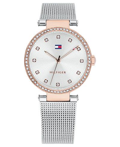 Tommy Hilfiger Women's Stainless Steel Mesh Bracelet Watch 32mm