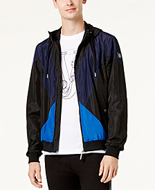 Versace Men's Colorblocked Track Jacket