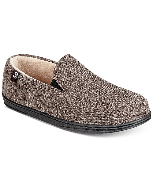 62c3f7d8090 Isotoner Signature Isotoner Men s Moccasin Slippers With Memory Foam ...