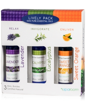 SpaRoom 3Pk Lively Essential Oils