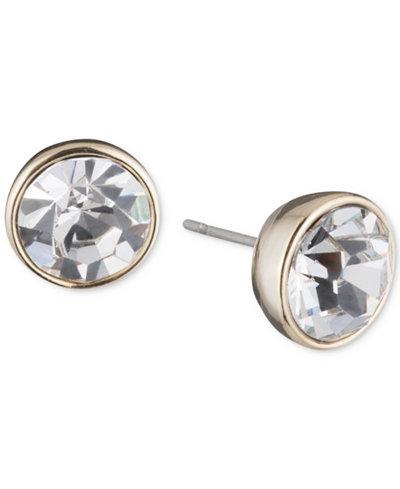 Dkny Crystal Stud Earrings Created For Macy S