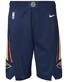 New Orleans Pelicans Icon Swingman Shorts, Big Boys (8-20)