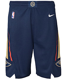 Nike New Orleans Pelicans Icon Swingman Shorts, Big Boys (8-20)