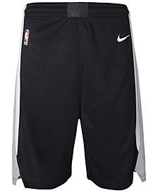 Nike San Antonio Spurs Icon Swingman Shorts, Big Boys (8-20)