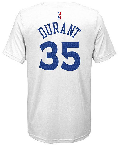 a1bab92d8a6 Nike Kevin Durant Golden State Warriors Icon Name   Number T-Shirt ...
