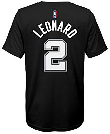 Nike Kawhi Leonard San Antonio Spurs Icon Name & Number T-Shirt, Big Boys