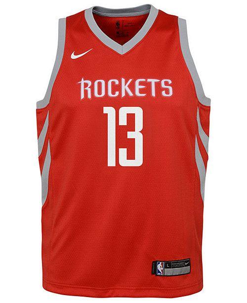 69b5fd6b3ab Nike James Harden Houston Rockets Icon Swingman Jersey