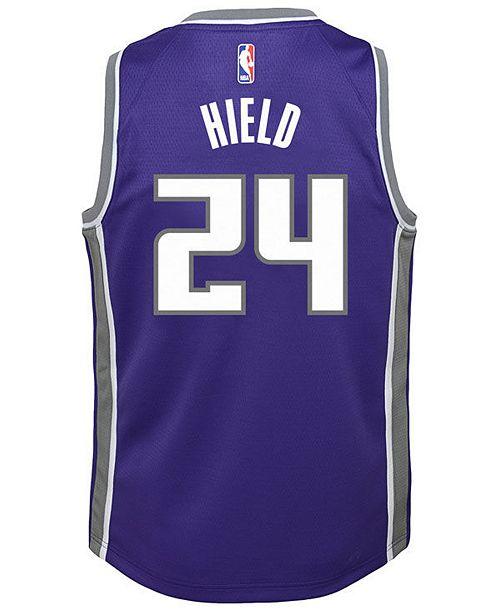 c5cd8db02d6 ... Nike Buddy Hield Sacramento Kings Icon Swingman Jersey, Big Boys (8-20)  ...