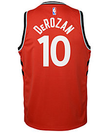 Nike Demar Derozan Toronto Raptors Icon Swingman Jersey, Big Boys (8-20)