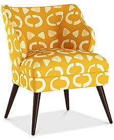 Natalie Accent Chair, Quick Ship