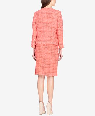 Tahari Asl Boucle Skirt Suit Wear To Work Women Macy S