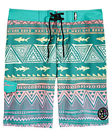"Maui and Sons Men's Surfside 20"" Boardshort"