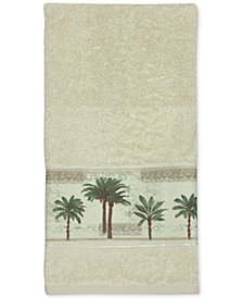 Bacova Citrus Cotton Palm-Print Hand Towel