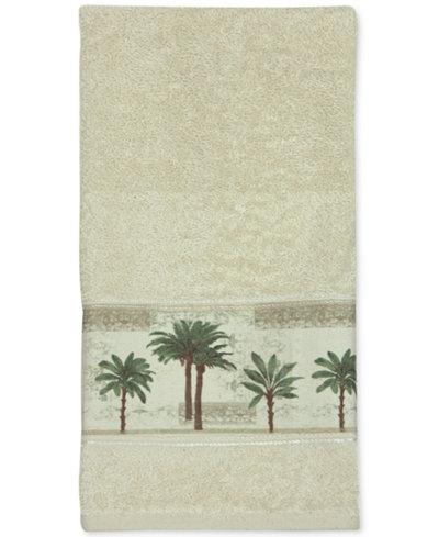Bacova Citrus Cotton Palm-Print Hand Towel