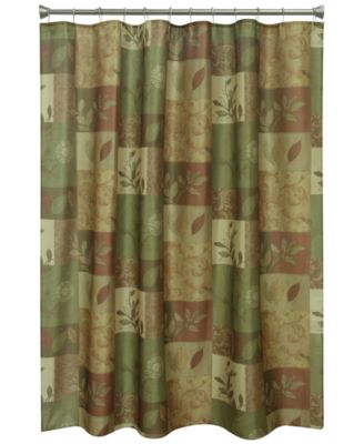 "Sheffield 70"" x 72"" Graphic-Print Shower Curtain"