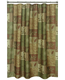 "Bacova Sheffield 70"" x 72"" Graphic-Print Shower Curtain"