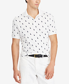 Polo Ralph Lauren Men's Classic-Fit Soft-Touch Print Polo