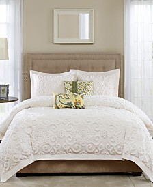 Harbor House Suzanna Ivory 3-Pc. Full/Queen Comforter Mini Set