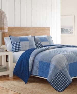 Nautica Peak Cotton FullQueen Quilt Bedding