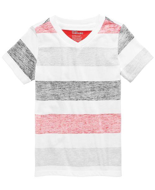 Epic Threads Striped T-Shirt, Little Boys, Created for Macy's