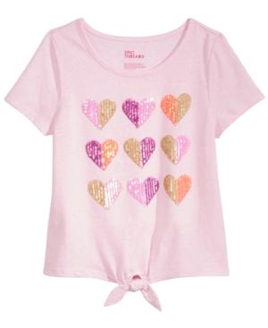 Epic Threads Sequin Hearts TShirt Big Girls (716) Created for Macys