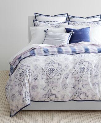Image 2 Of Lauren Ralph Lauren Luna 3 Pc. Cotton Reversible King Comforter  Set