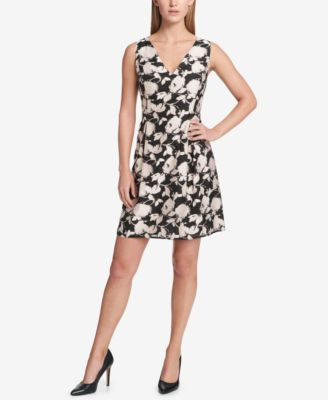 American Living Cap Sleeve Ruffled Dress Dresses Women