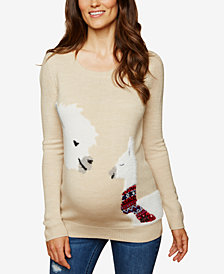 Motherhood Maternity Graphic Sweater