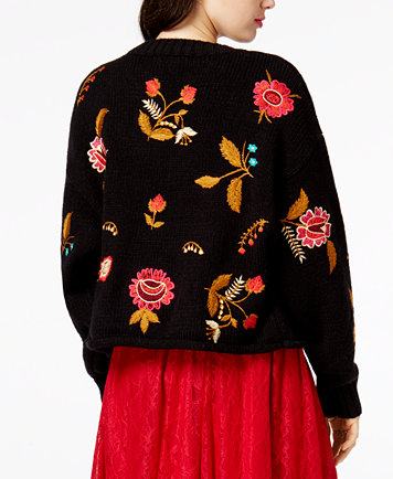 Image 2 of GUESS Daria Embroidered Sweater