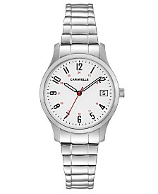 Caravelle Designed by Bulova  Women's Stainless Steel Bracelet Watch 30mm