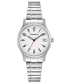 Caravelle Designed by Bulova  Women's Stainless Steel Bracelet Watch 30mm