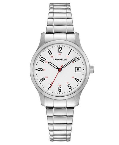 Caravelle Women's Stainless Steel Bracelet Watch 30mm