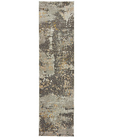 "Oriental Weavers Evolution Cupric 2'3"" x 8' Runner Area Rug"