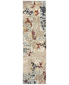 "Oriental Weavers Evolution Temp 2'3"" x 8' Runner Area Rug"