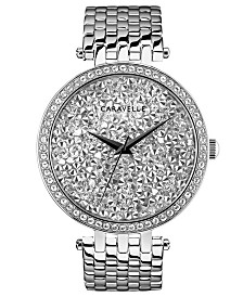 Caravelle Designed by Bulova  Women's Stainless Steel Bracelet Watch 38mm