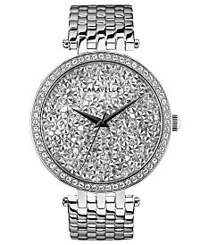 Caravelle Designed by Bulova  Women's Stainless Steel Bracelet Watch 38mm