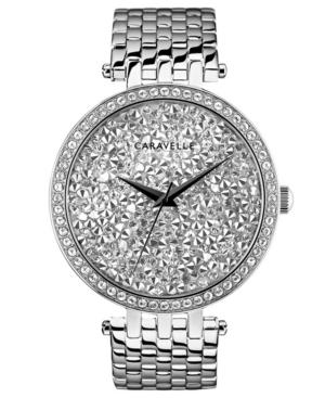 Designed by Bulova Women's Stainless Steel Bracelet Watch 38mm